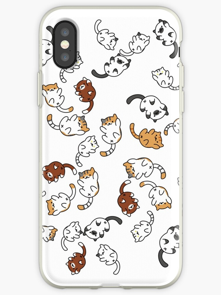 get cheap 2ba58 b0533 'neko atsume cat party!!' iPhone Case by babejpg