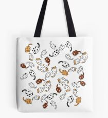neko atsume Katzenparty !! Tote Bag
