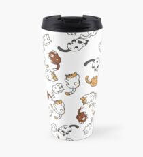 neko atsume cat party!! Travel Mug
