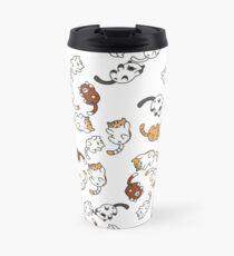 neko atsume cat party!! Travel Mug