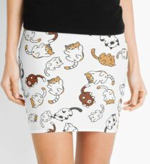 neko atsume cat party!! Mini Skirt