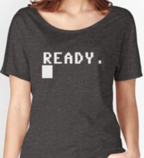 Commodore 64 - C64 - Ready. Women's Relaxed Fit T-Shirt