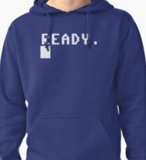 Commodore 64 - C64 - Ready. Pullover Hoodie