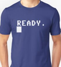 Commodore 64 - C64 - Ready. T-Shirt