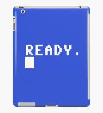 Commodore 64 - C64 - Ready. iPad Case/Skin
