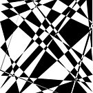 Black and white polygon by tdhanshew
