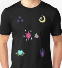 My little Pony - Sparkle Family Cutie Mark Special Unisex T-Shirt