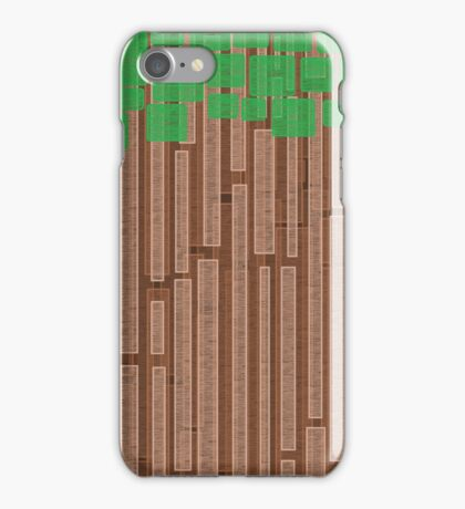 Simple forest iPhone Case/Skin