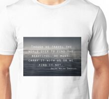 Though we Travel - Emerson Unisex T-Shirt