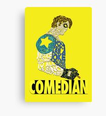 Watchmen - The Comedian - Typography  Canvas Print