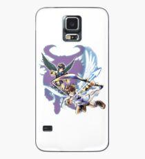 Kid Icarus Pit & Dunkle Grube Hülle & Klebefolie für Samsung Galaxy
