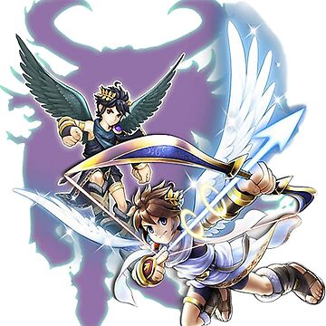 Kid Icarus Pit & Dark Pit by eazypeazy