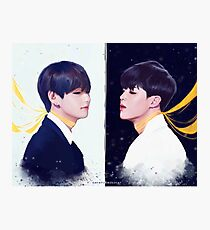 BTS Vmin Photographic Print