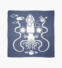 Gargantuan Space Squid Danger Imminent Scarf