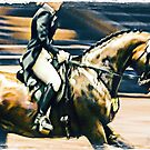 Dressage Rider by Janice O'Connor