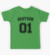 Dick Grayson Sports Jersey Kids Tee