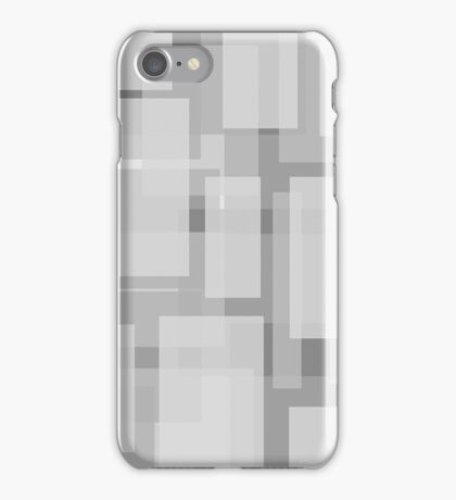 Monochromatic boxes iPhone Case/Skin