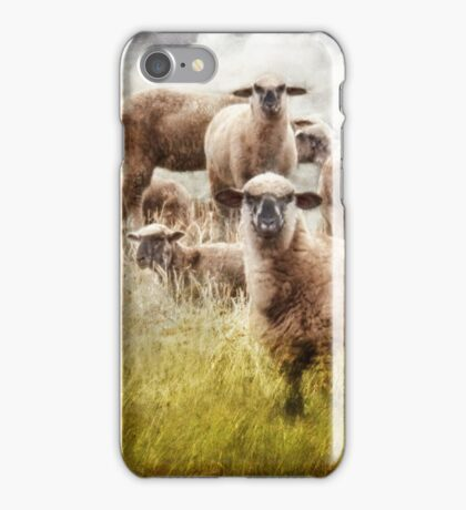 What You Lookin' At? iPhone Case/Skin