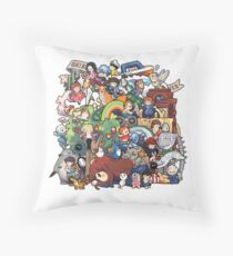StudioGhibli Throw Pillow