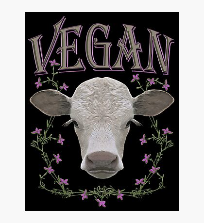 VEGAN Photographic Print