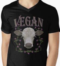 VEGAN Men's V-Neck T-Shirt