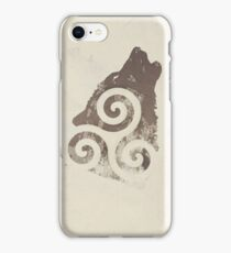 Triskele Wolf iPhone Case/Skin