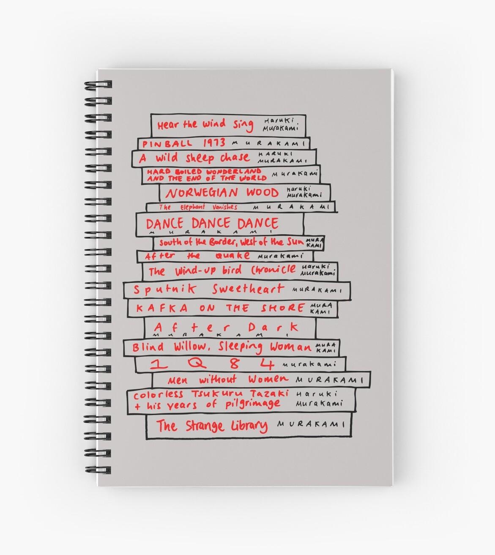 Haruki Murakami Buch Fan von Louise Norman