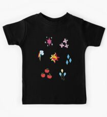 My little Pony - Elements of Harmony Cutie Mark Special V2 (Sunset Shimmer) Kids Tee
