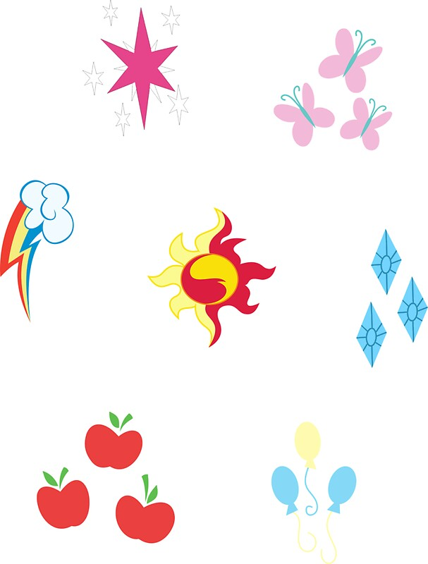 Quot My Little Pony Elements Of Harmony Cutie Mark Special