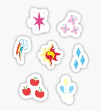 My little Pony - Elements of Harmony Cutie Mark Special V2 (Sunset Shimmer) Sticker