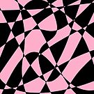 Wavy pink and black by tdhanshew