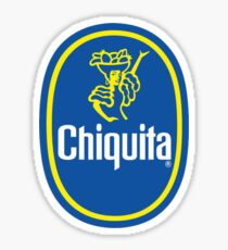 Chiquita Banana Logo Sticker