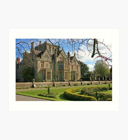 Tortworth Court Art Print
