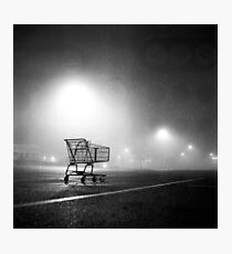 Shopping Cart Photographic Print