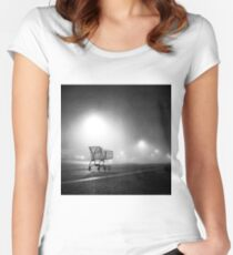 Shopping Cart Women's Fitted Scoop T-Shirt