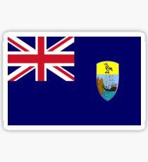 St. Helena Flag Sticker