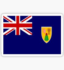 Turks And Caicos Flag Sticker