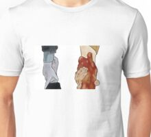 Frodo and Sam Holding Hands Unisex T-Shirt