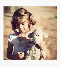 Sheepy and me Photographic Print
