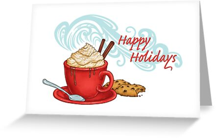 Hot Chocolate Holiday Wishes by katymakesthings