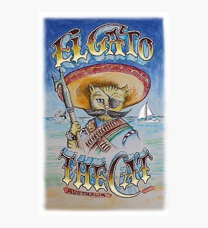 El Gato Technicolor Photographic Print