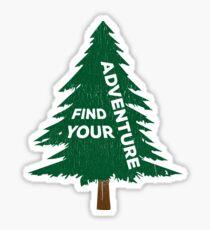 Finde dein Abenteuer Sticker