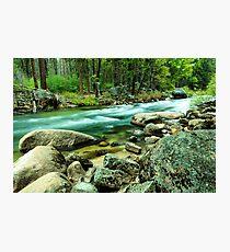 Merced River Yosemite National Park Photographic Print