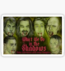 What We Do In The Shadows Sticker
