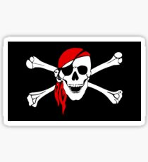 Pirate Flag Sticker