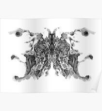 Cosmic Inkblot Poster