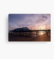The First Sunrise of the New Year Canvas Print