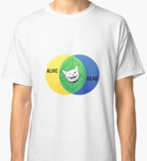 Schrödinger's Cat Venn Diagram Classic T-Shirt