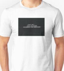 Earl Sweatshirt's I Don't Like Shit, I Don't Go Outside Album Cover T-Shirt