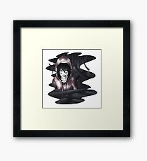 Jeff The Killer - In The Wall Framed Print